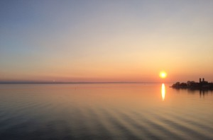 Rea über dem See