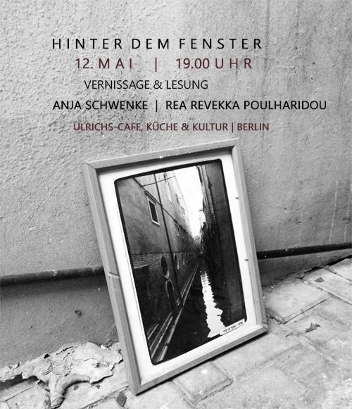 Vernissage und Lesung, Anja schwenke und Rea Revekka Poulharidou, Berlin