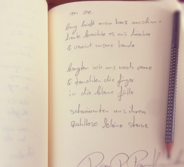 am see - Gedicht von Rea Revekka Poulharidou